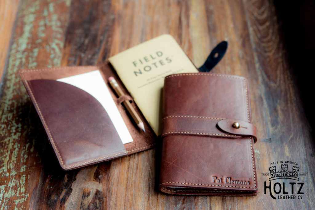 Leather Journal Cover by Holtz Leather