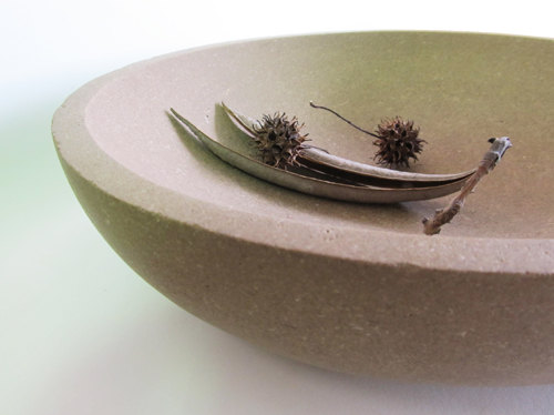 Limestone Bowl by Brooks Barrow