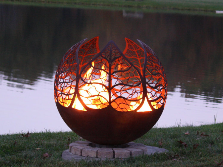 Autumn Sunset Fire Pit by The Fire Pit Gallery [buy]