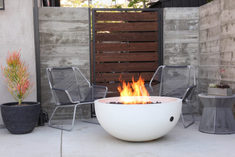 Ember Fire Bowl by Concrete Wave Design [buy]
